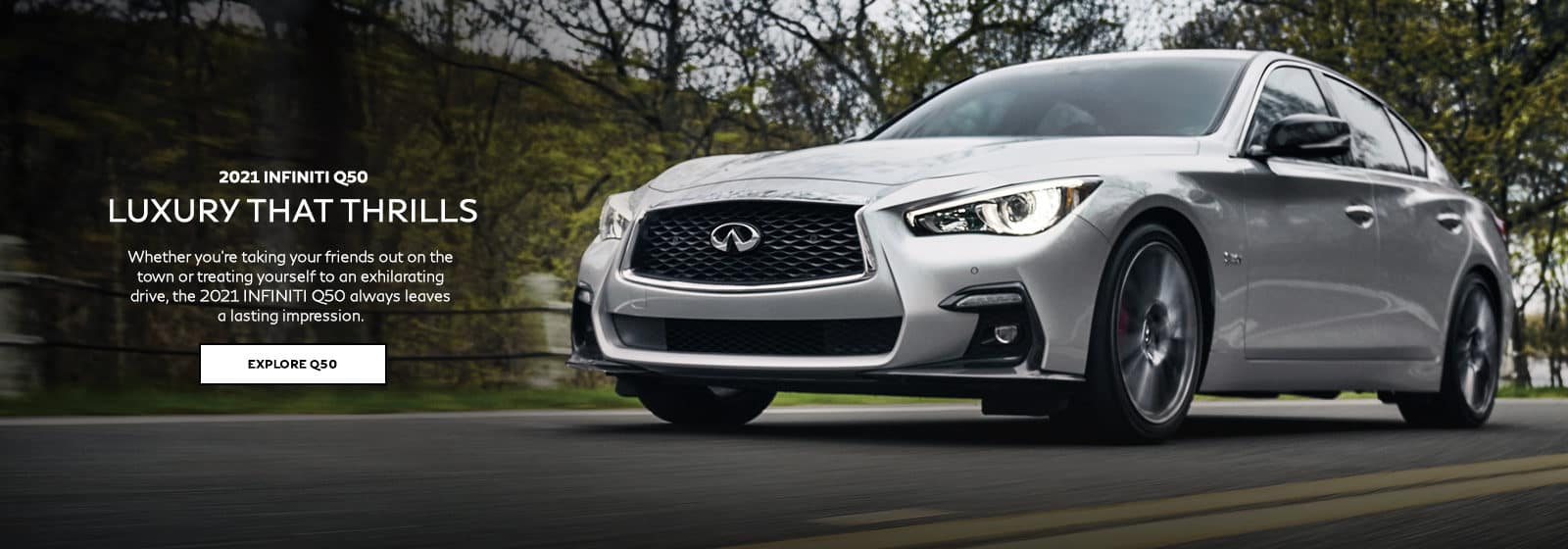 2021 INFINITI Q50. Click to explore.