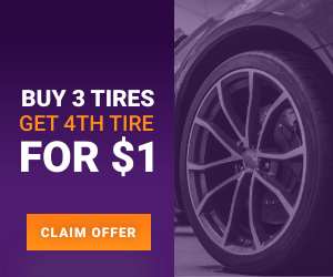 BUY 3 TIRES, GET 4TH FOR $1 Infiniti