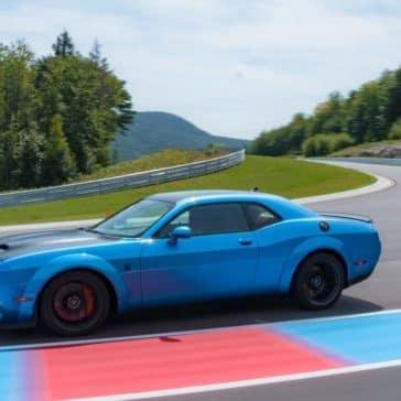 2019 Dodge Challenger On Track