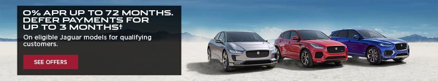 Jaguar 0% APR 90 Day Deferment