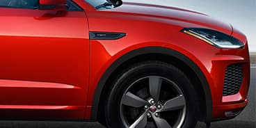 Jaguar E-PACE side tire