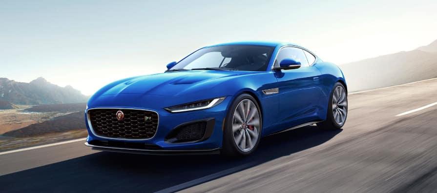 Jaguar F-TYPE blue