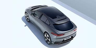 Jaguar I-PACE sky view