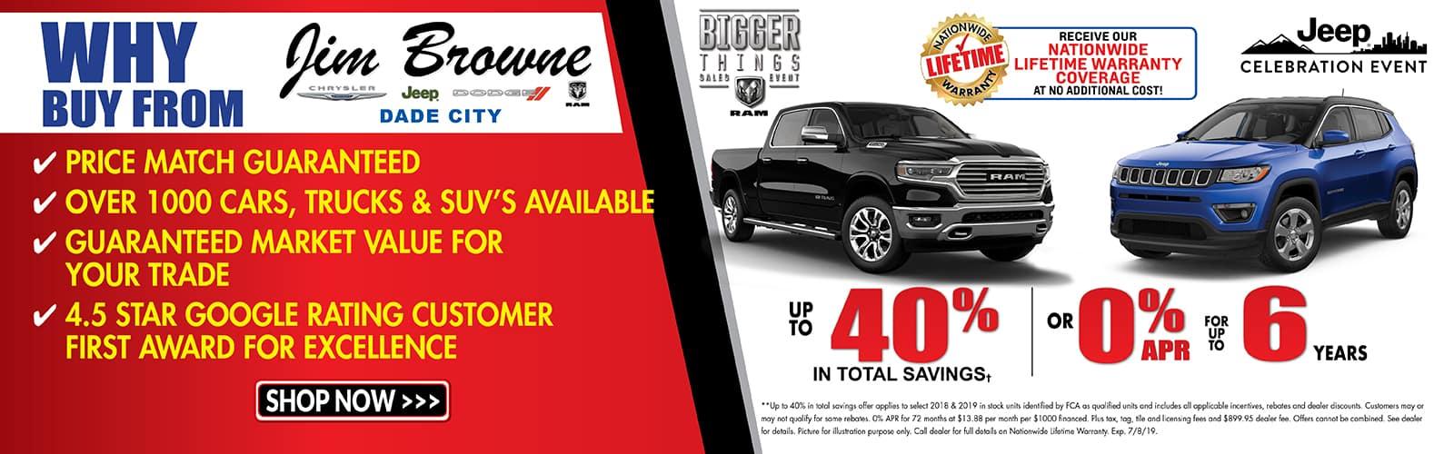 Jim Browne Jeep >> Jim Browne Chrysler Dodge Jeep Ram Dade City   New & Used ...