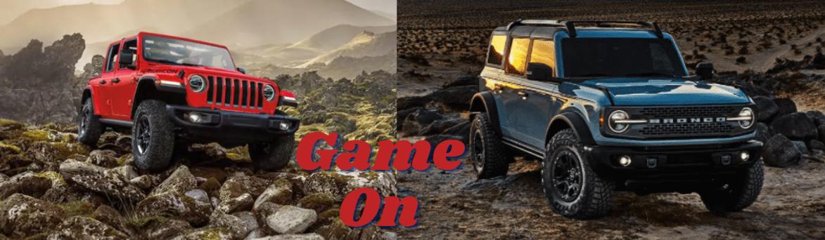 Compare Jeep Wrangler vs. Ford Bronco Jim Browne Dade City