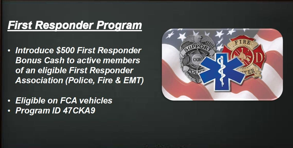 Ask About Our First Responder Program