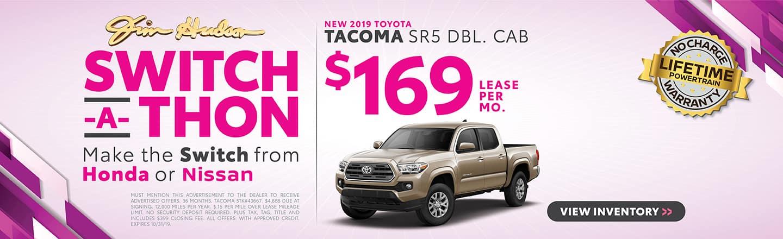 2019 Tacoma SR5