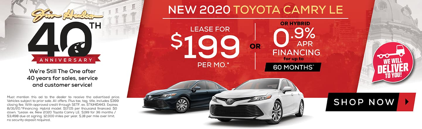 Camry Offer August