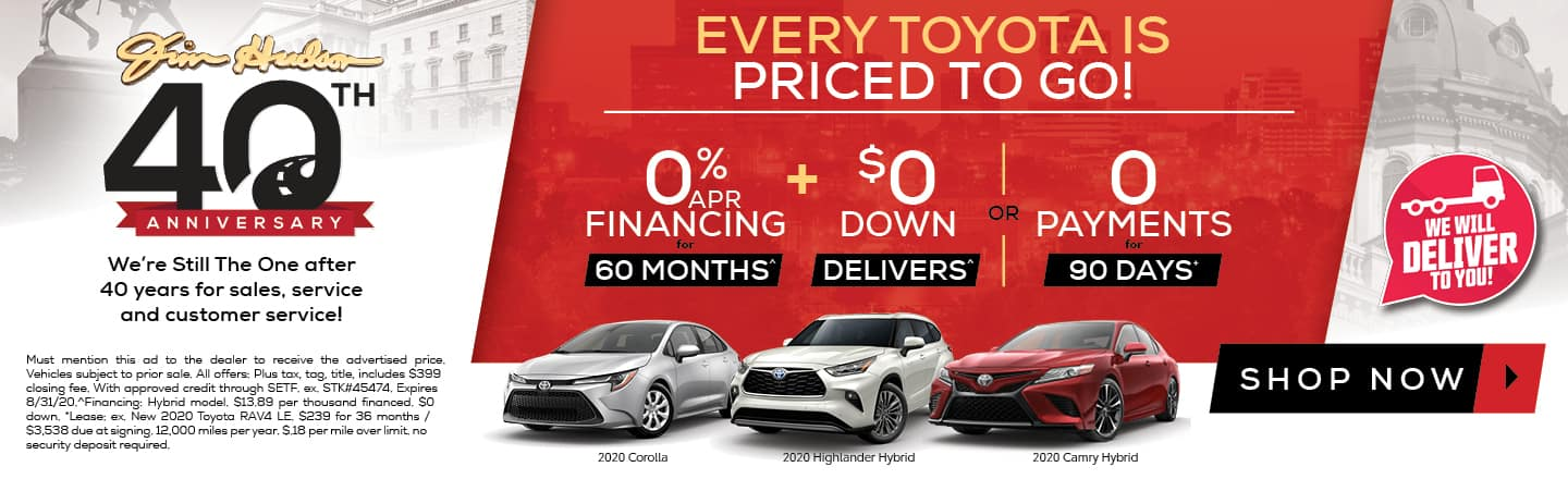 Toyota Offers August