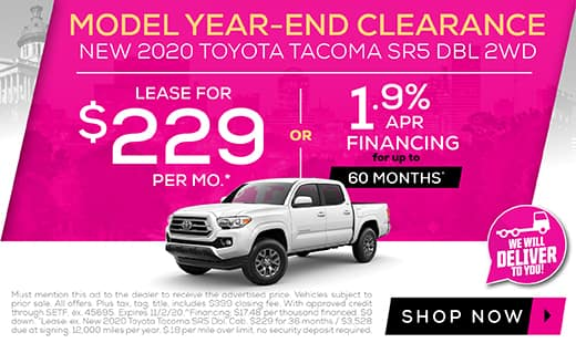 New 2020 Toyota Tacoma