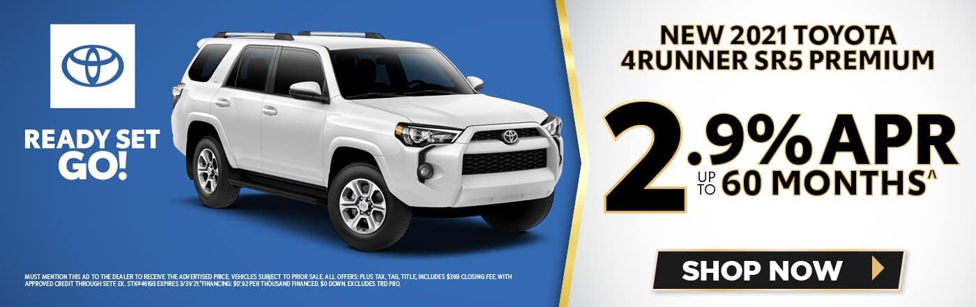 New 2021 Toyota 4Runner