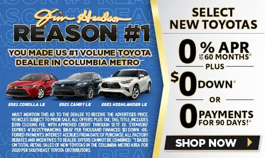 Jim Hudson - #1 Volume Toyota Dealer in Columbia Metro