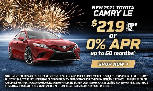 New Toyota 2021 Camry