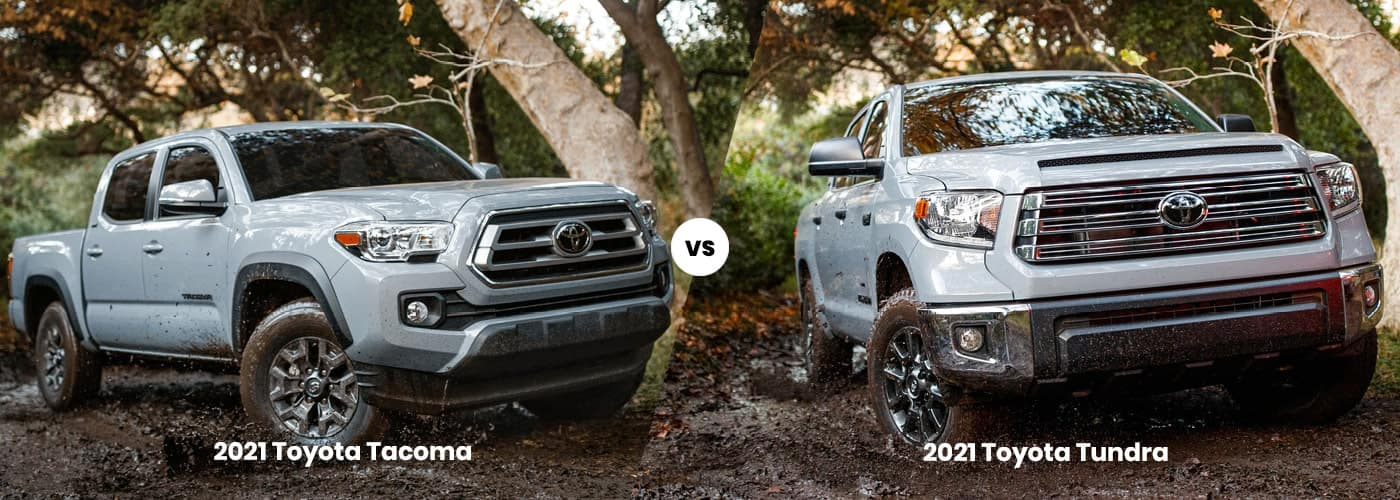 2021 Toyota Tacoma vs 2021 Toyota Tundra Comparison