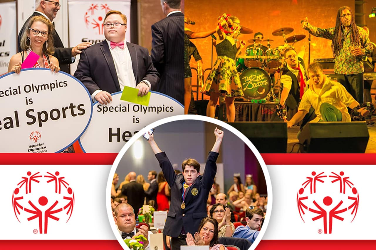 Jim Hudson Donates to Special Olymptics