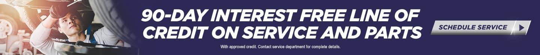Service & Parts Credit