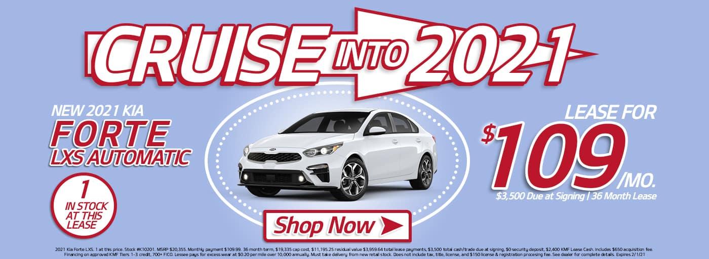 KK January Cruise into 2021 Forte Banner