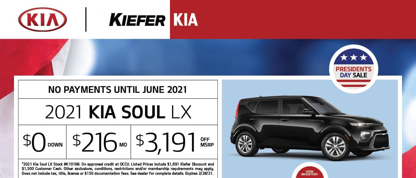 Soul Kia Banner