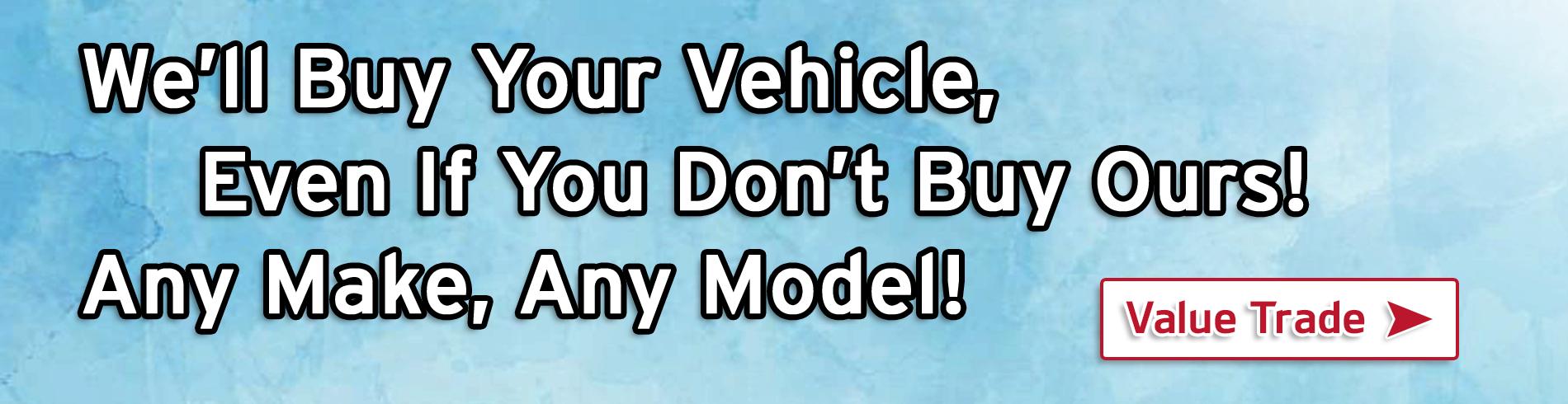 Well Buy Your Vehicle