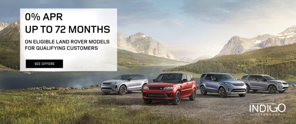 2020 Land Rover 0% Financing