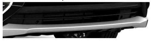 2018 Mitsubishi Outlander Front Bumper