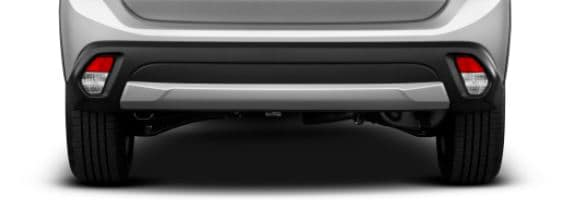 2018 Mitsubishi outlander rear bumper
