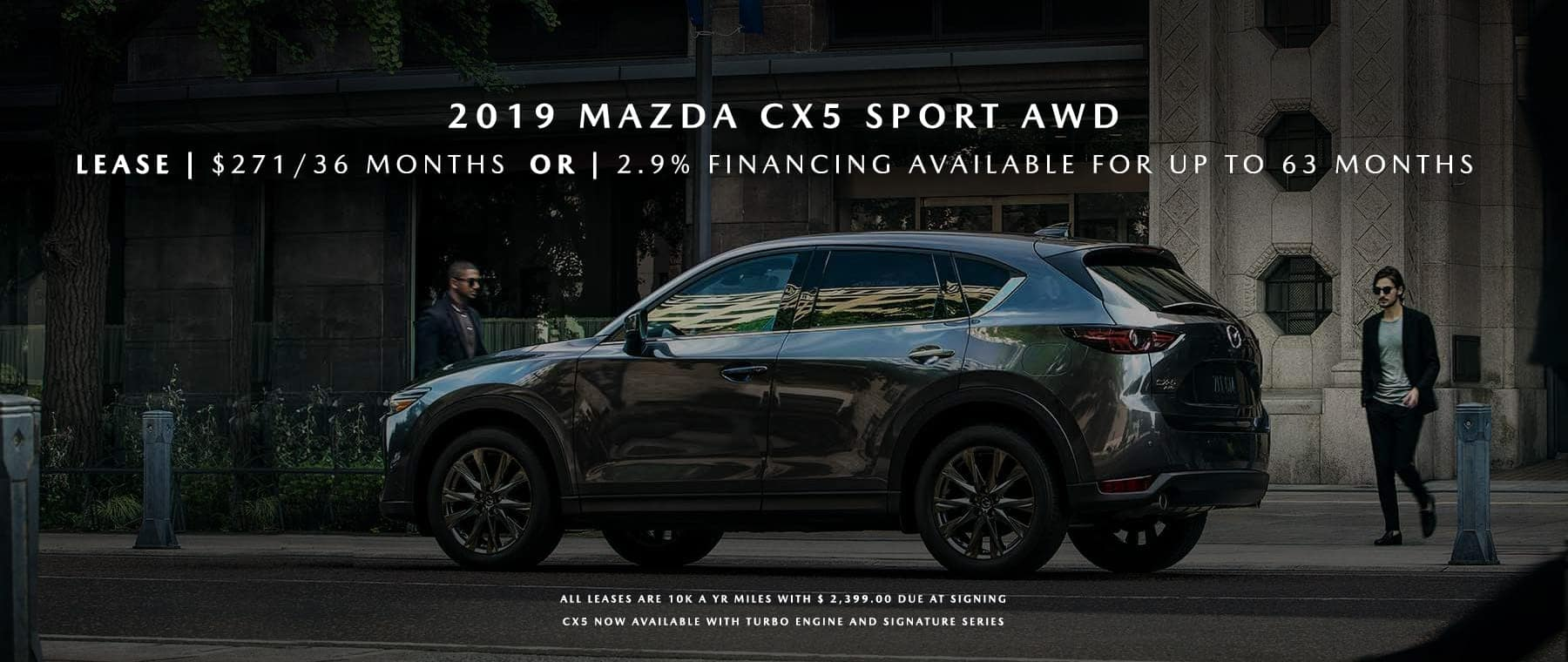 Mazda CX-5 Banner