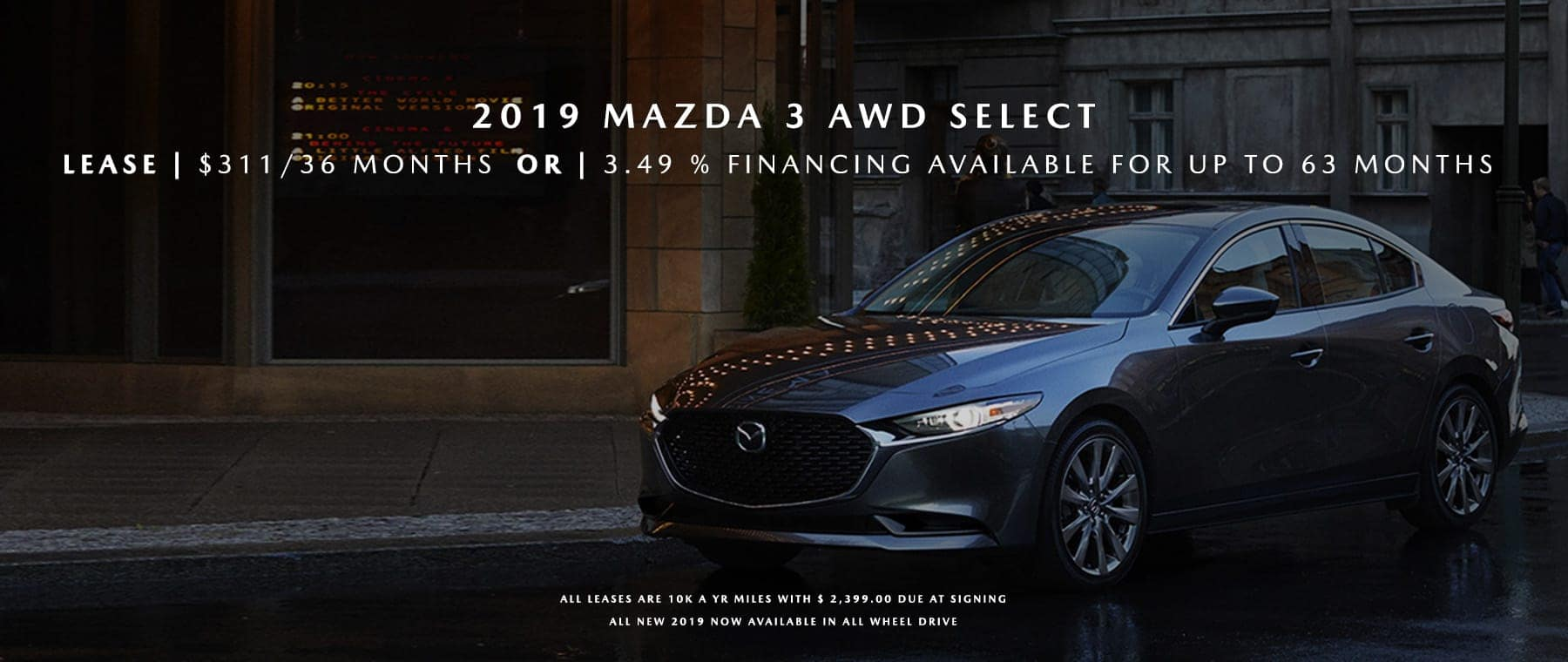Mazda 3 Banner