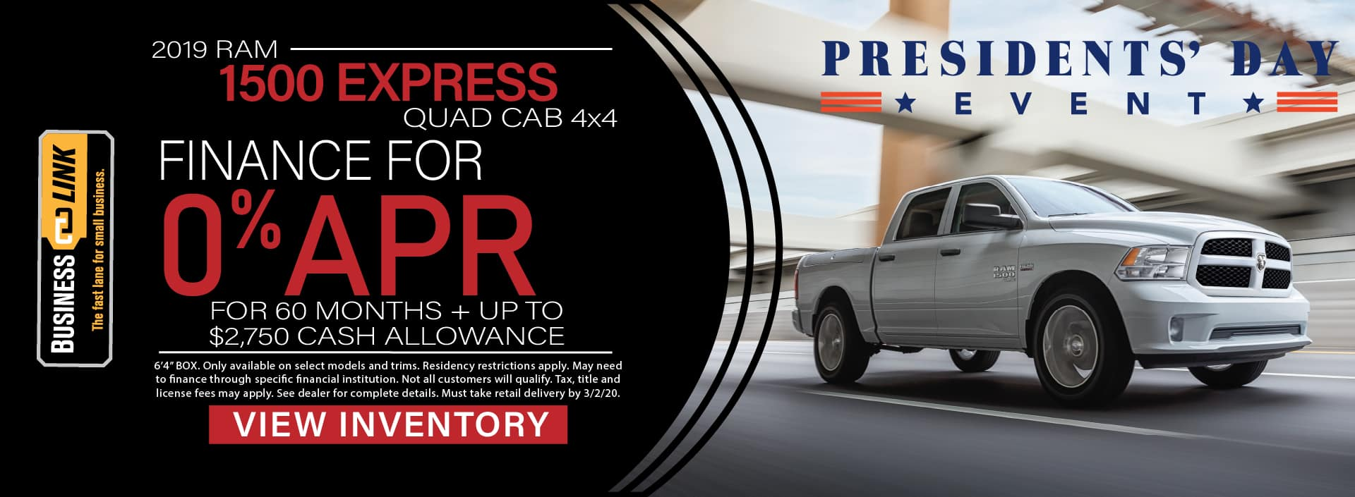 2019 Ram 1500 Express BusinessLink