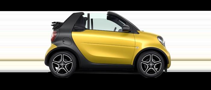 2019 smart ED cabrio