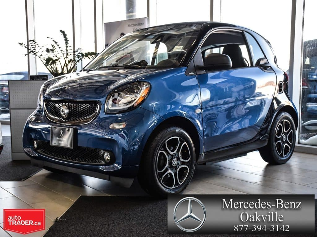 2018 smart fortwo coupe ED