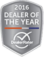 2016 Dealer of the Year DealerRater