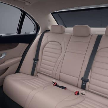 2019 Mercedes-Benz C-Class Sedan back interior