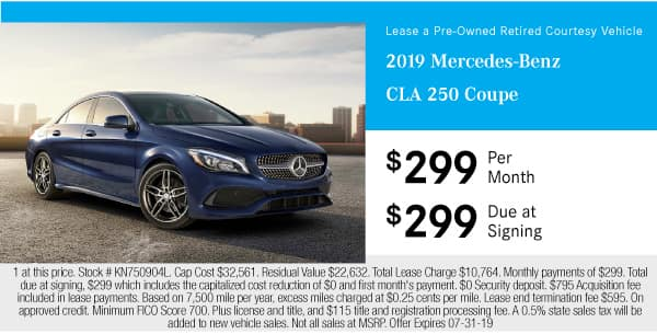 Certified Pre-Owned 2019 Mercedes-Benz CLA 250 Coupe FWD Coupe