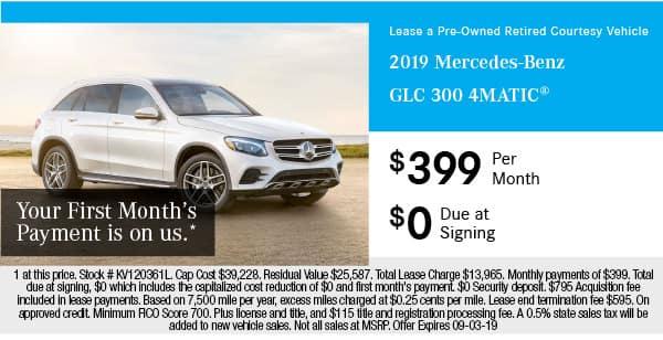 2019 Mercedes-Benz GLC 300 4MATIC®