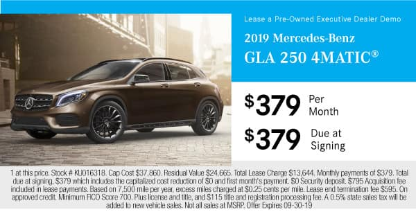 2019 Mercedes-Benz GLA 250 4MATIC®