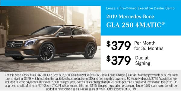 2019 Mercedes-Benz GLA 250 4MATIC®