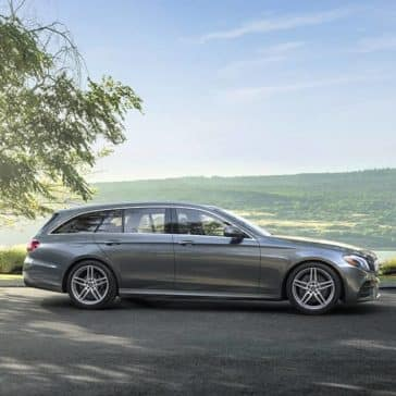 2020 MB E-Class Wagon Parked