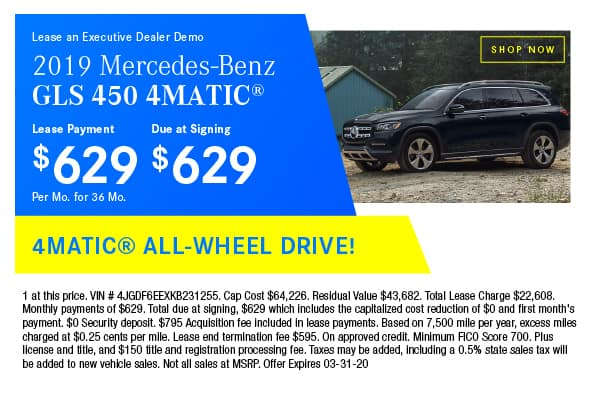 Certified Pre-Owned 2019 Mercedes-Benz GLS 450 4MATIC® SUV AWD