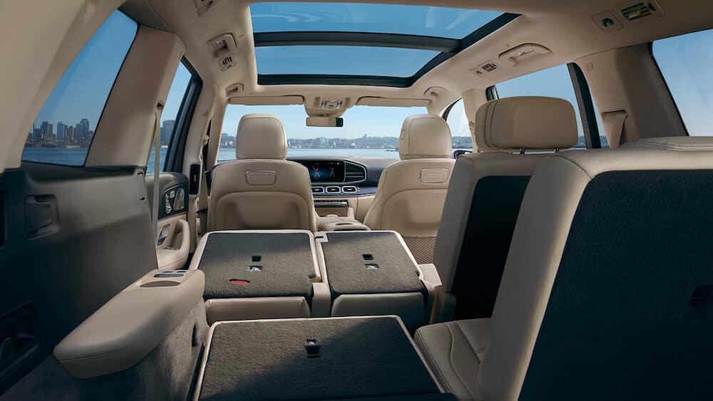 2020 Mercedes-Benz GLS interior seating banner