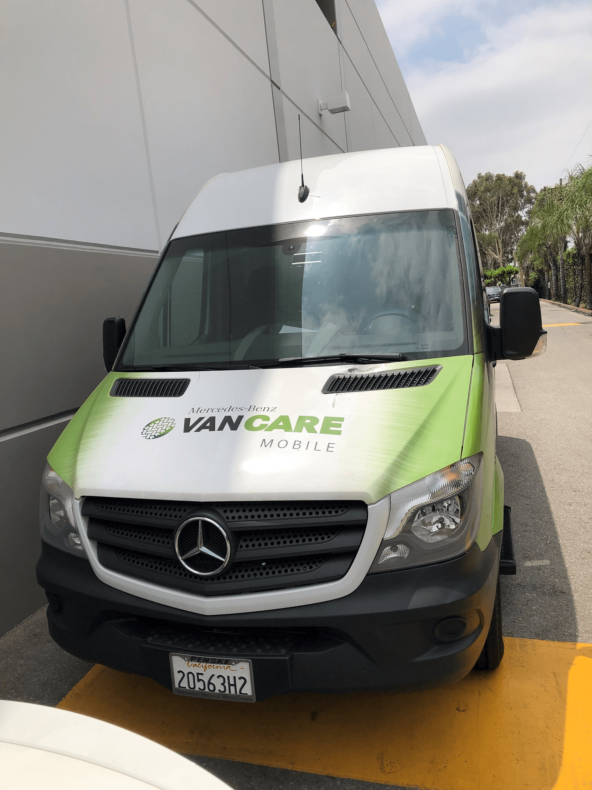 Sprinter van care 3