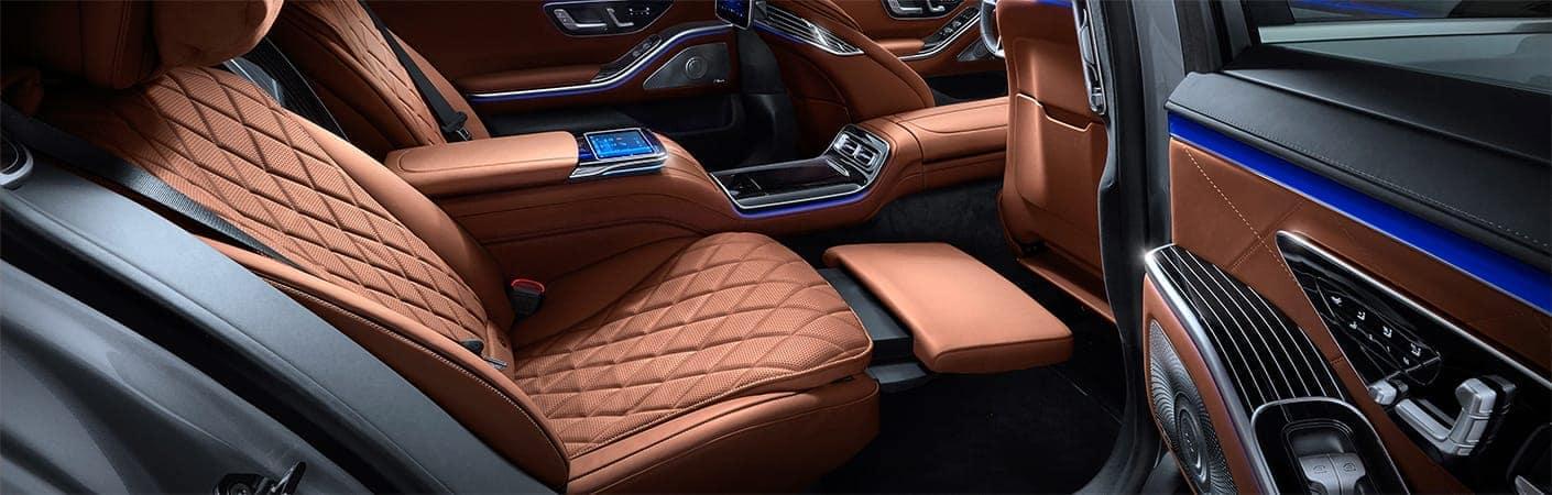 2021 S-Class interior