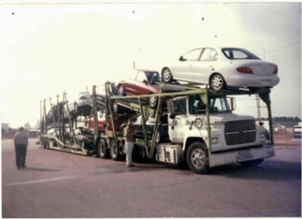 Car Delivery Truck