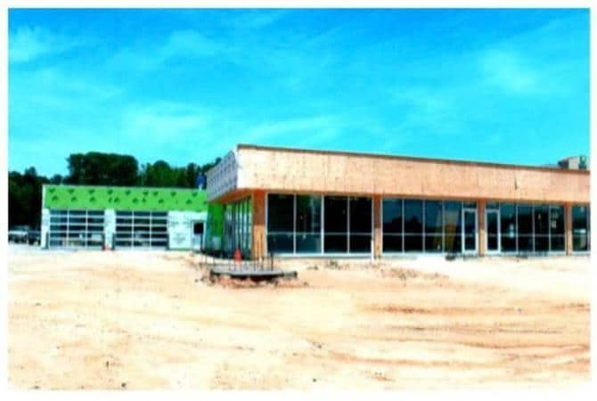 Construction of New Dealership