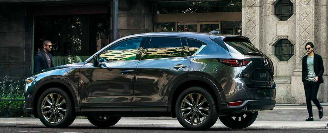 2019 Mazda CX-5 Parked on a Street