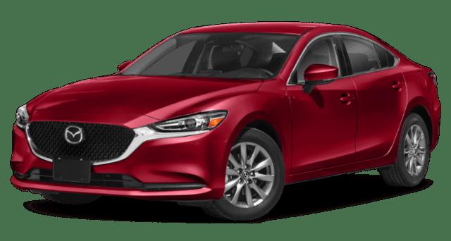 2019 Mazda6 Comparison Image