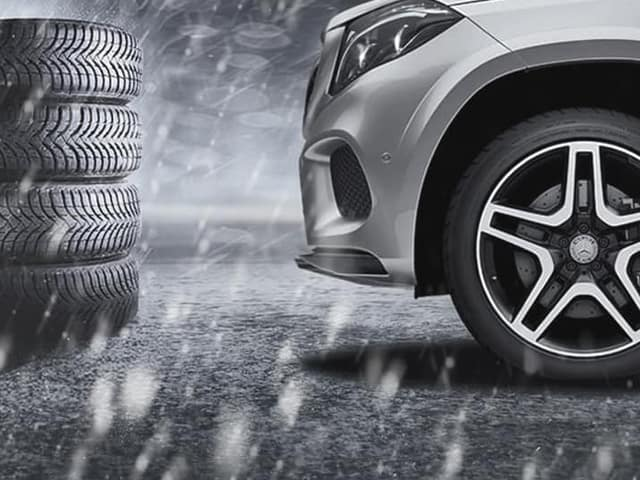 Mercedes-Benz Winter Tire and Wheel Sets