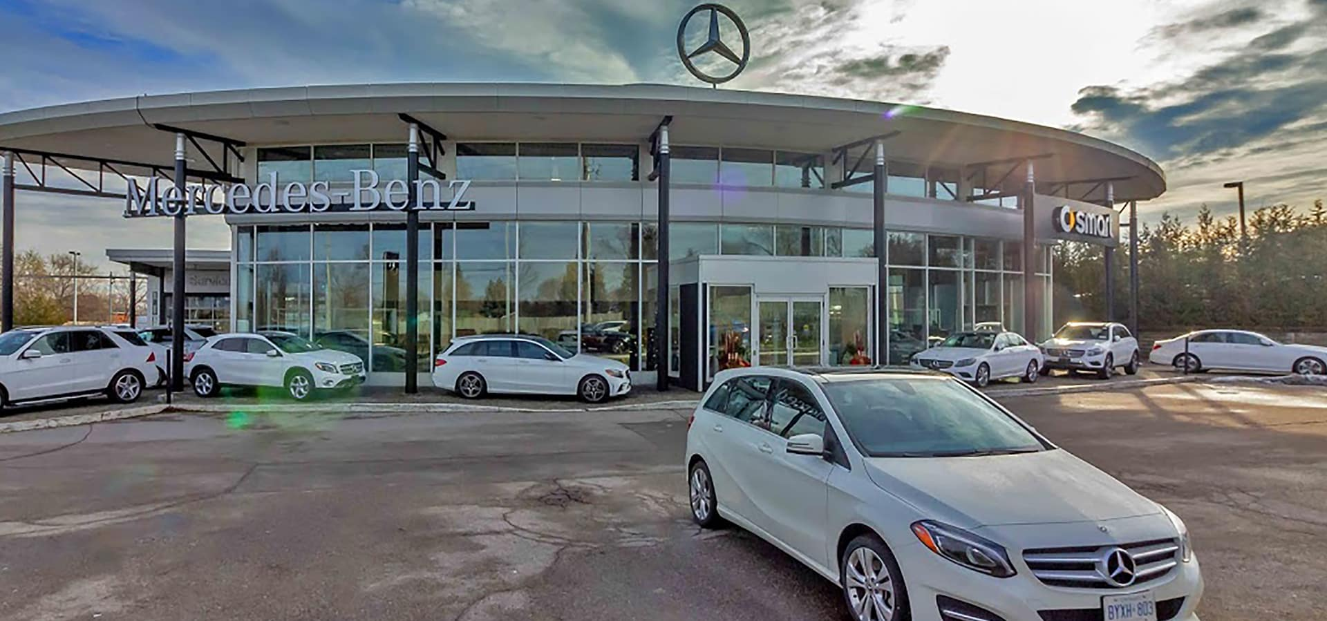 Front of dealership