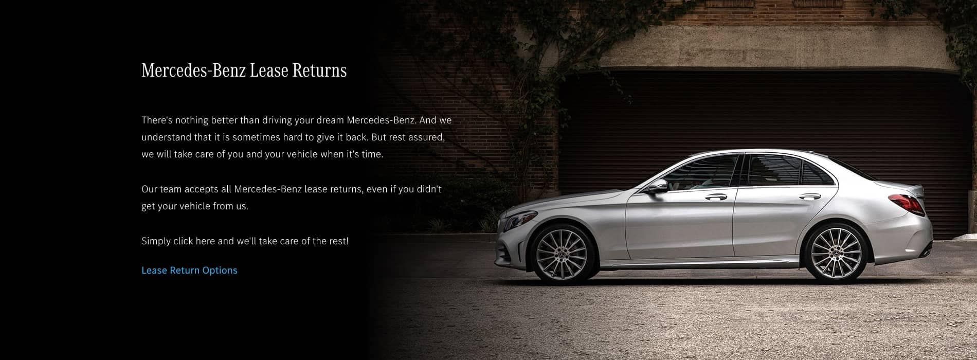 Mercedes-Benz Lease Returns Desktop