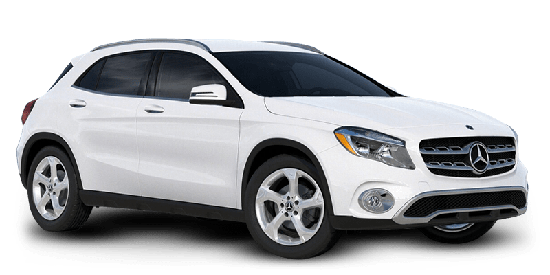 2019 GLA SUV Polar White HERO